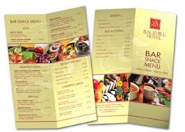 graphic menu
