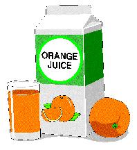 orange juice carton
