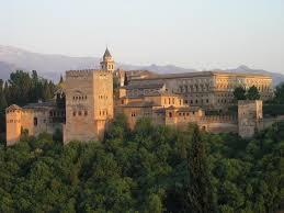 بحث حول قصر الحمراء 33985-The-Alhambra-Palace-at-sunset-0