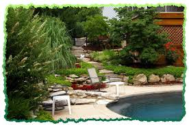 pool landscaping photos