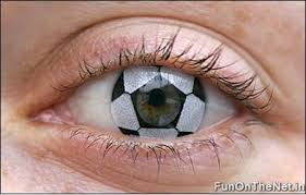 football contact lenses
