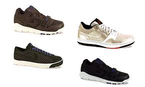 brown nike trainers