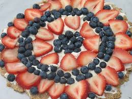 red white and blue dessert