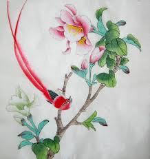chinese silk paintings