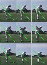 golf iron swing
