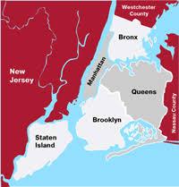 manhattan boroughs map