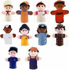 people hand puppets