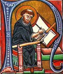 pictures of medieval monks