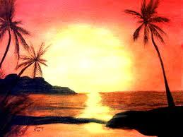 hawaiian beach scenes