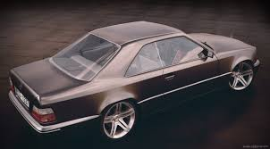 mercedes benz w124 coupe