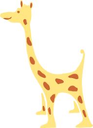 giraffe stencil
