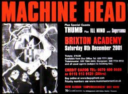 machine head posters