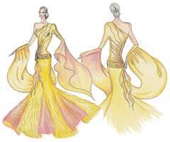 ballroom dress design
