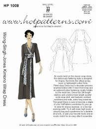 kimono dress patterns