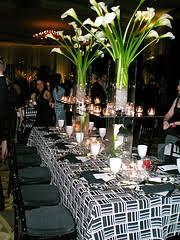 wedding centerpieces lilies