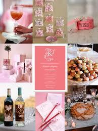 pink wedding shower