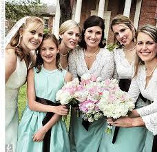 tiffany blue bridesmaid