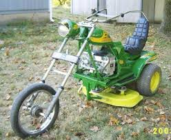 lawn mower ride on
