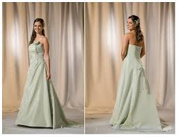 green bridal dresses