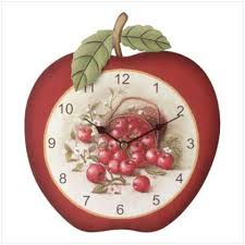 apple wall clocks