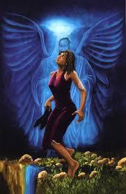 black spiritual art
