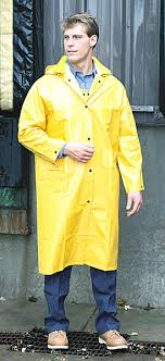 polyester raincoat