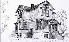 sketches house