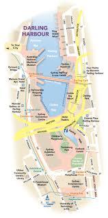 darling harbour map