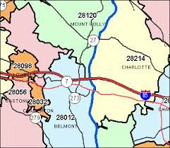 maps with zip codes