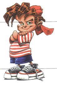 cartoon kid