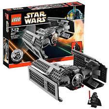 lego star wars darth vaders tie fighter