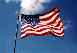 flying us flag
