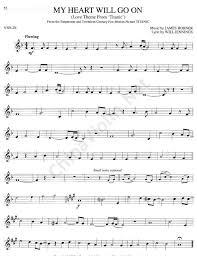 my heart will go on violin