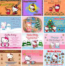 hello kitty e cards