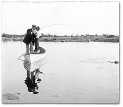 pictures of men fishing