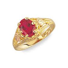 black hills gold engagement ring