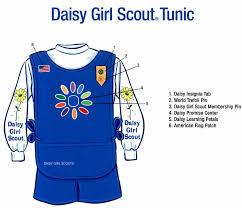 daisy girl scout uniform