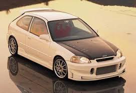 honda civic hatchback 1996