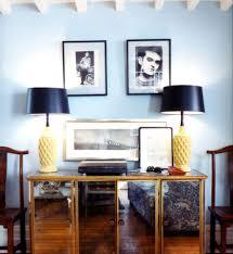 light blue walls