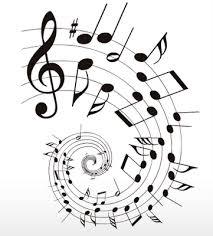 notas musicales de canciones