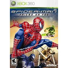 spiderman friend or foe xbox