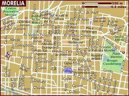 map of morelia