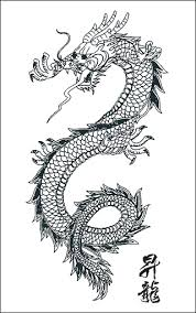 dragon tattoo pattern