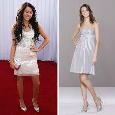 short silver dress
