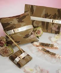 camouflage wedding