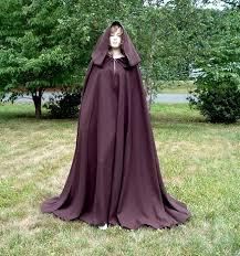 brown cloaks