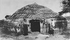 eastern woodland indian homes