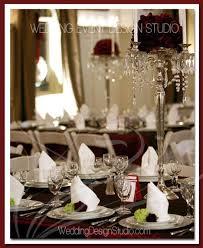 burgundy wedding centerpieces
