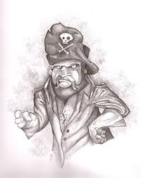 pirates sketch