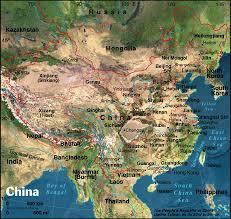 china satellite photo